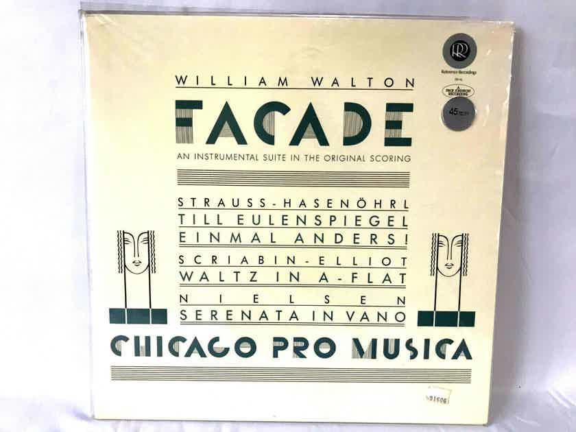 William Walton  Facade- RR-16 45rpm LP