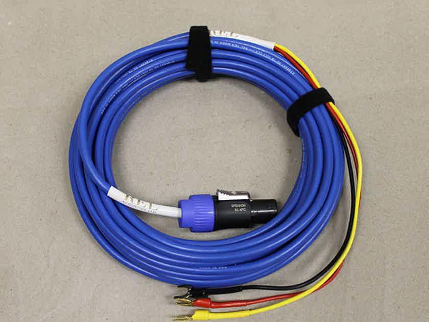 REL Acoustics Bassline Blue Interconnect, 10M