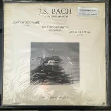 """SEALED WATER LILY J.S. Bach """"The Six Flute Sonatas"""" Pur..."""