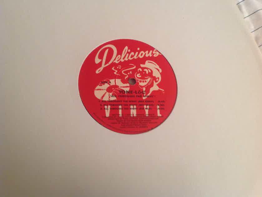 Tone-Loc All Through The Night Profile Records Promo 12 Inch EP