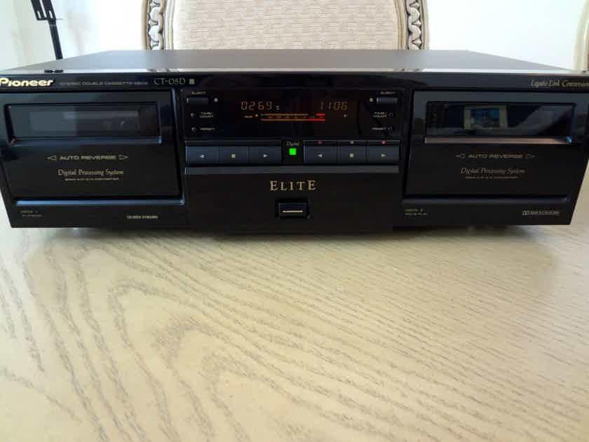 Pioneer ELITE CT-05D Cassette Player- New Belts / Excellent Condition