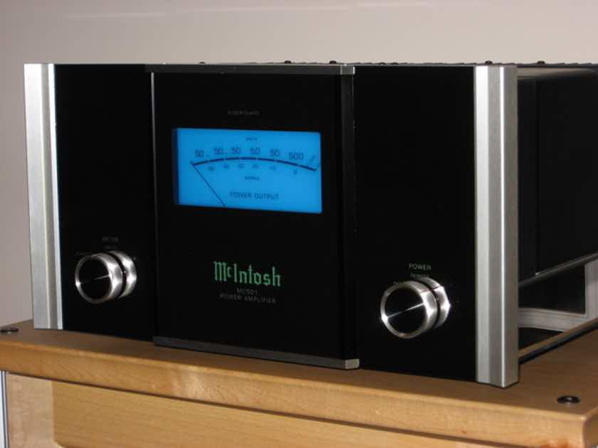 McIntosh MC501A Pair Monoblock Amplifiers