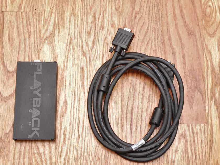 Playback Designs USB-X