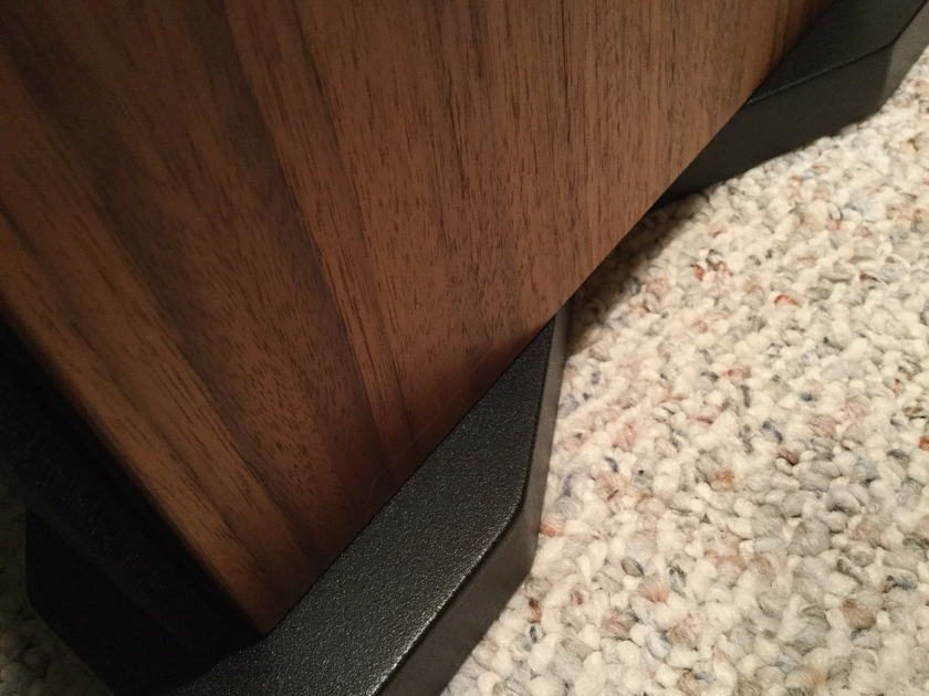 Ryan R630 Full Range Speakers - Clear Walnut - Hand Crafted in USA!