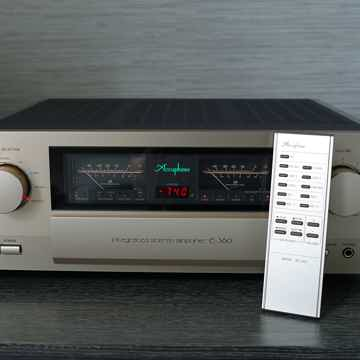 Accuphase E-360 integrated with USB DAC and phono stage