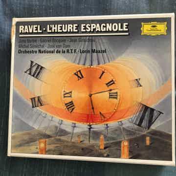 Ravel Lorin Maazel  L'Heure Espagnole 1 Cd  box set deutsche Grammophon