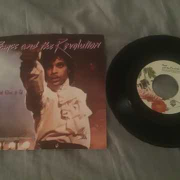 Prince  I Would Die For You/Another Lonely Christmas 45...