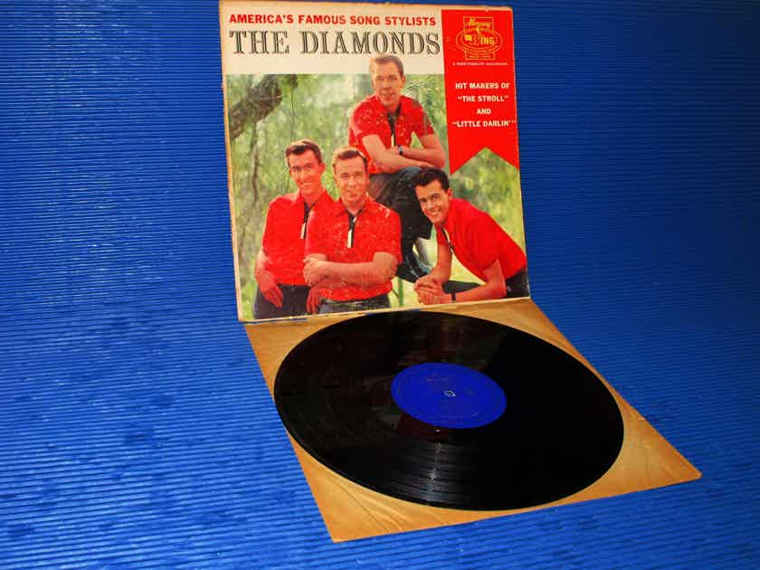 "THE DIAMONDS   - ""Americas Famous Song Stylists"" -  Mercury Wing 1959 RARE!"