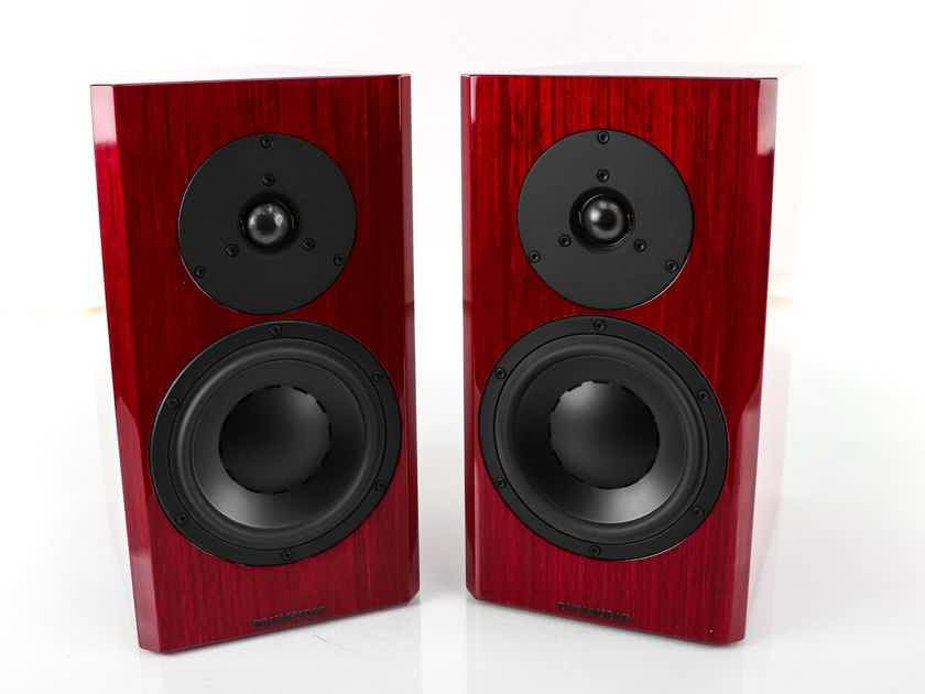 Dynaudio Special Forty Bookshelf Speakers; Gloss Red Birch Pair; 40th Anniversary (29076)