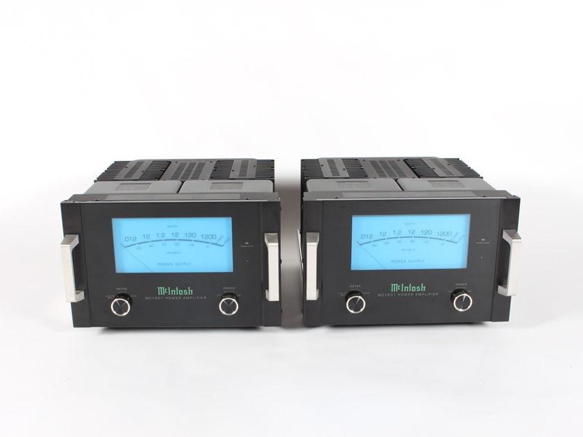 McIntosh MC1201 Solid State Monoblock Amplifiers