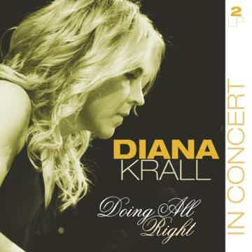 Diana Krall Doing All Right 2LPs Very Hard to Find