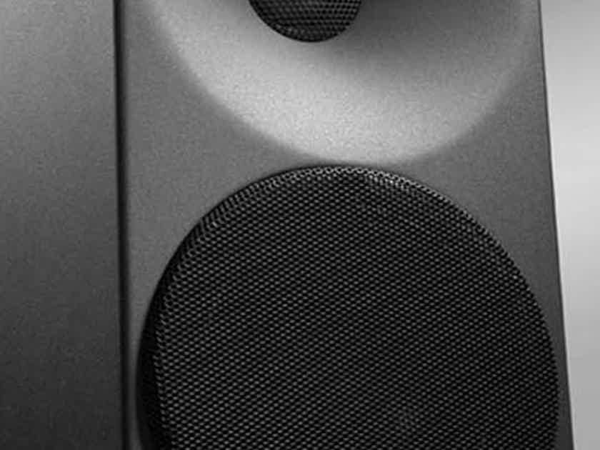 Amphion Ion Loudspeakers. Bookshelf. Demos in Black and silver