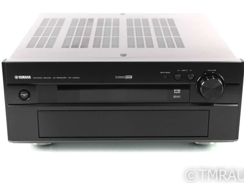 Yamaha RX-V3000 6.1 Channel Home Theater Receiver; Black (No Remote) (28801)