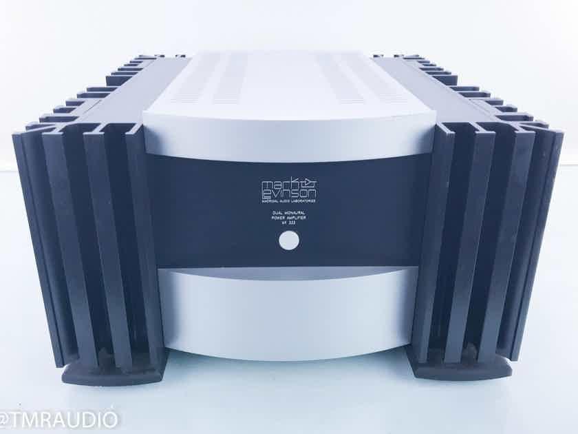 Mark Levinson No333 Dual Mono Power Amplifier No.333 (16207)