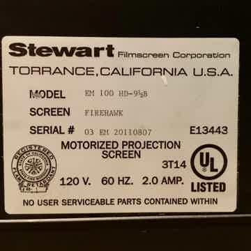Stewart Filmscreen EM-100
