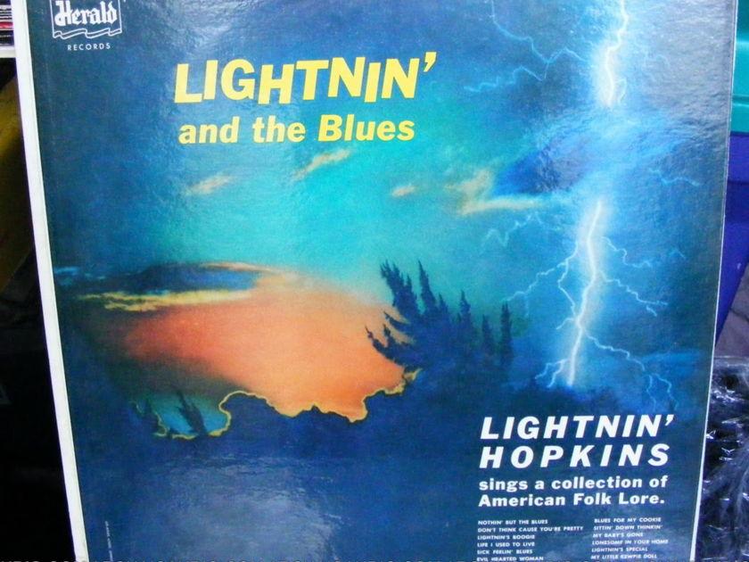 LIGHTNIN' HOPKINS AND THE BLUES - HERALD 1012 LIGHTNIN' HOPKINS AND THE BLUES INVESTMENT GRADE