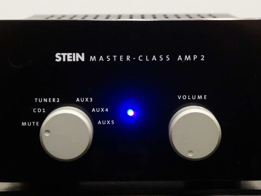 SteinMusic Master Class Amp 2 Classy German integrated! 100-240V. $2,000 MSRP