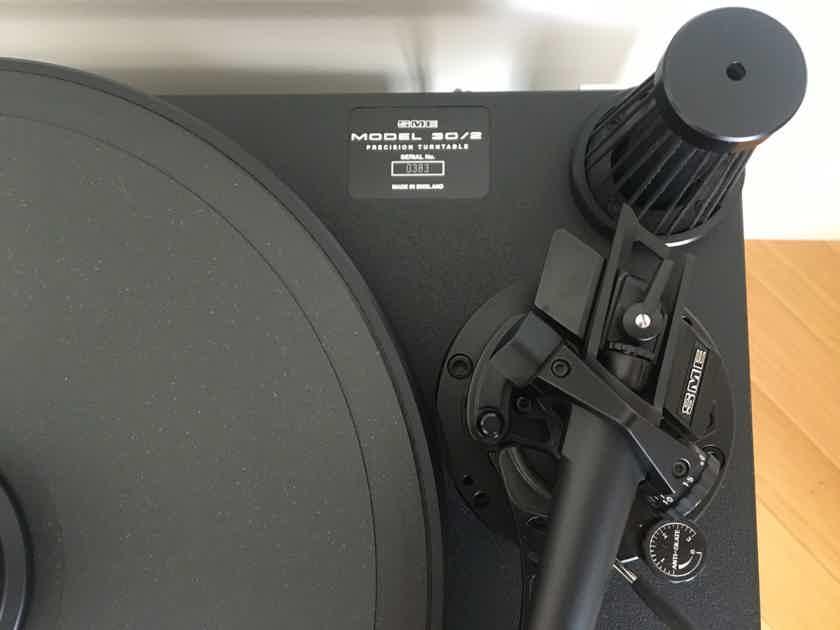 SME 30/2 TT + SME V Tonarm - pristine, 115V / 230V from Europe