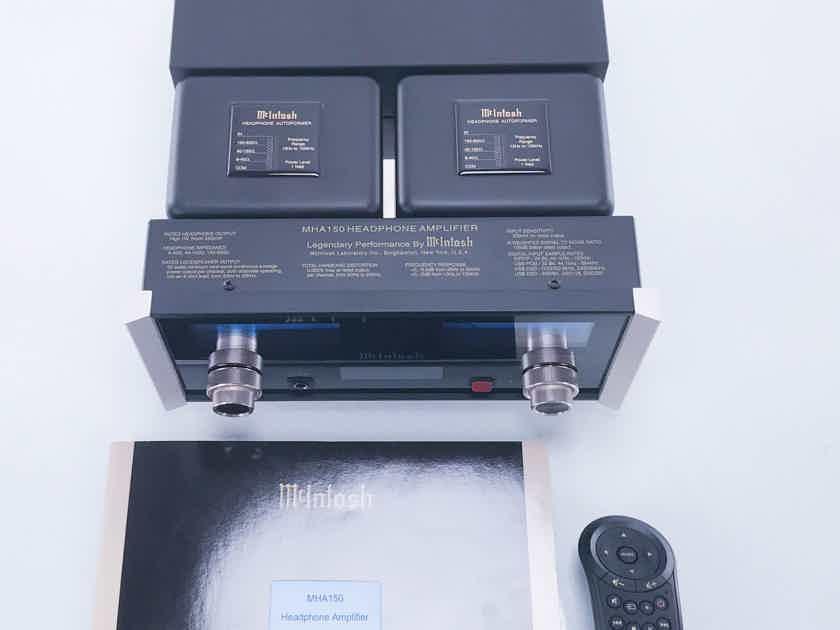 McIntosh MHA150 Headphone Amplifier; Integrated Amplifier MHA-150 (11773)