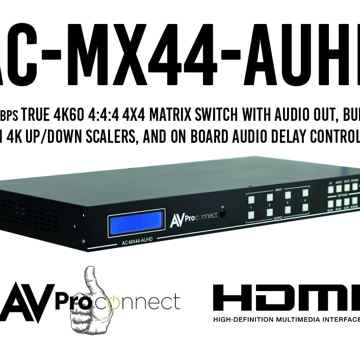 AC-MX44-AUHD Matrix Switch