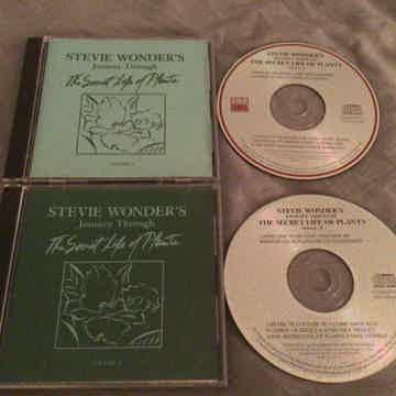 Stevie Wonder Original DADC Compact Disc  Journey Through The Secret Life Of Plants