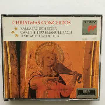 Hartmut Haenchen Carl Phillip Emanuel Bach Christmas concertos Sony Cd set SBM 1993