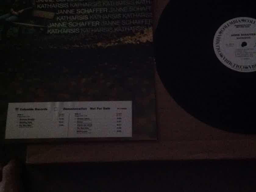 Janne Schaffer - Katharasis Columbia Records White Label Promo Vinyl  LP NM