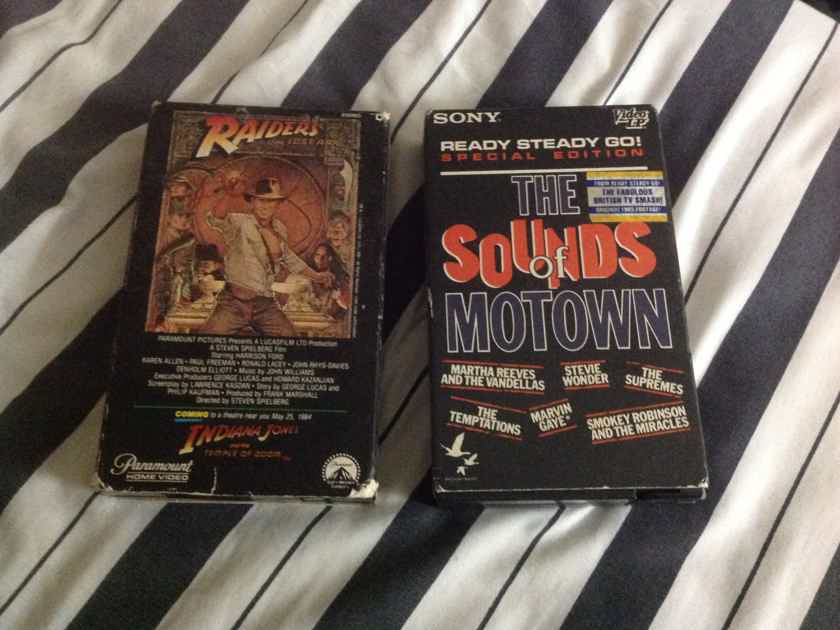 Pre Recorded Beta Tape Raiders Of The Lost Ark Sounds Of Motown