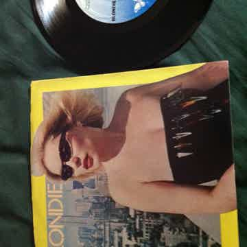 Blondie - Rapture/Walk Like Me Chrysalis Records 45 Sin...