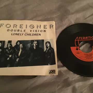 Foreigner  Double Vision 45 With Picture Sleeve Vinyl NM