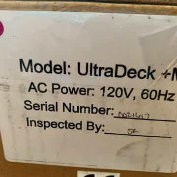 Mobile Fidelity Ultradeck with MasterTracker cartridge...