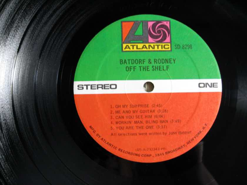 ... Batdorf U0026 Rodney   Off The Shelf   1971 Atlantic SD 8298