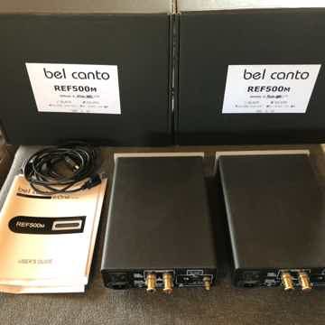 Bel Canto REF500M Power Amps