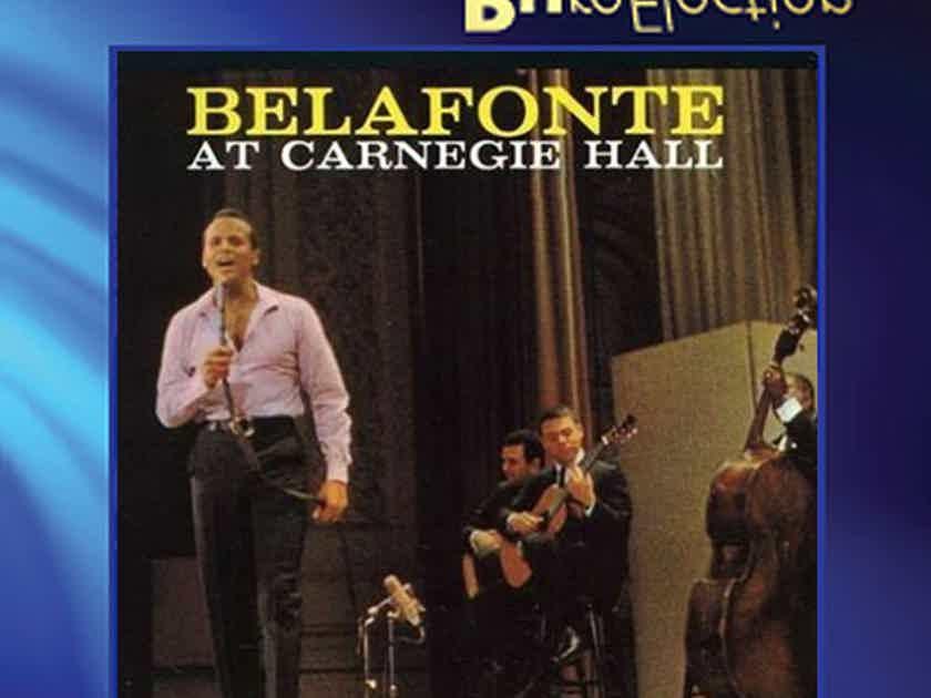 Harry Belafonte Belafonte At Carnegie Hall Numbered LTD Ultra HD Import CD