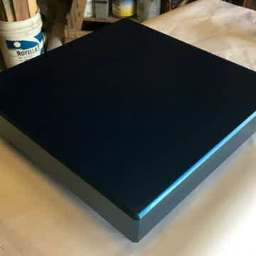 Timbernation Finished Indigo Metallic Blue Lacquer Maple Isolation Platform