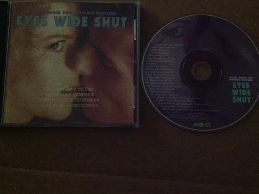 Soundtrack - Eyes Wide Shut Stanley Kubrick Film Tom Cruise Nicole Kidman Compact Disc