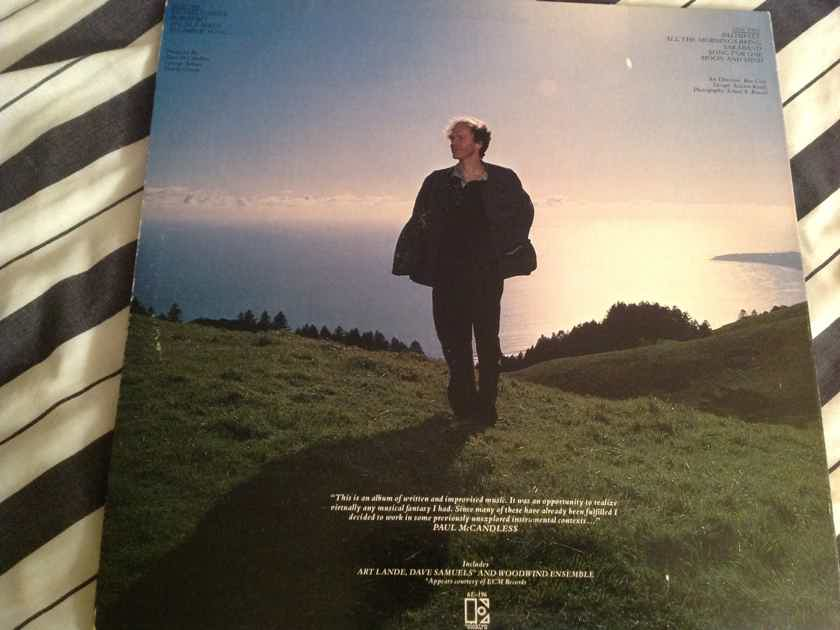 Paul McCandless All The Mornings Bring Elektra Records White Label Promo LP