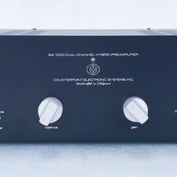 SA-1000 Stereo Tube Preamplifier