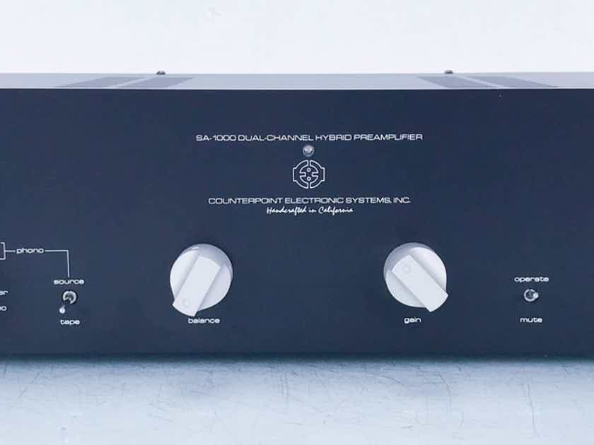 Counterpoint SA-1000 Stereo Tube Preamplifier MM / MC Phono (15118)