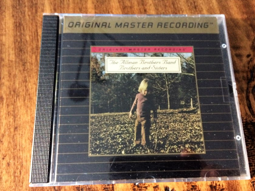 "Allman Brothers Band ""Brothers and Sisters"" MFSL - Gold CD - Mobile Fidelity Sound Labs UDCD 617"