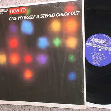 How to give yourself a stereo check out - lp record tes...