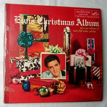 ELVIS PRESLEY-- Mega RARE 1957 Christmas cover album--