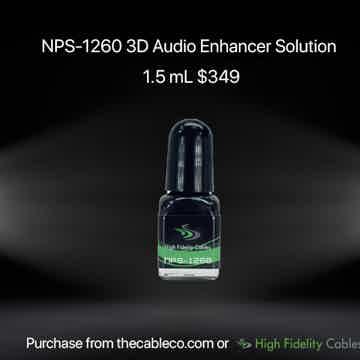 High Fidelity Cables  NPS-1260 3-D Enhancer 1.5ml