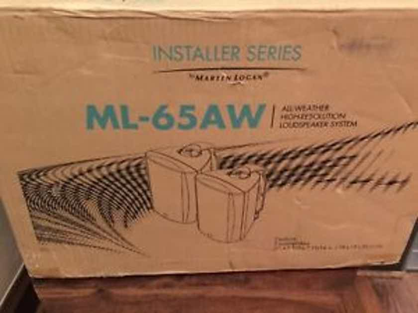 Martin Logan Installer Series 6.5 Inch 2-Way White\\\ Outdoor Speakers (Pair) - ML65AWWH