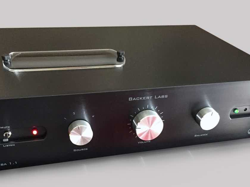 Backert Labs Rhumba 1.2 tube preamp preamplifier