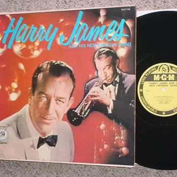 Harry James and his new swingin band lp record MGM E3778 SEAM BREAK