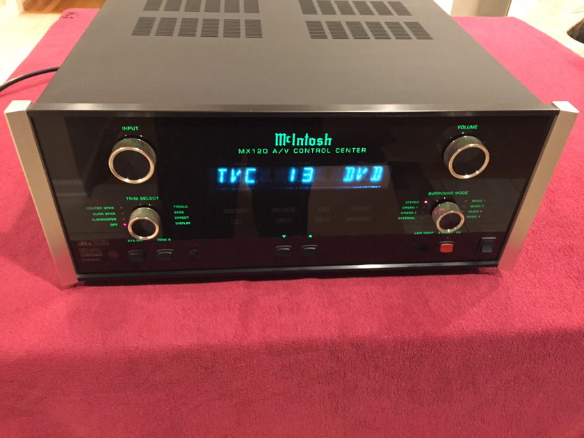 McIntosh MX-120 Preamp/Processor Reduced Price
