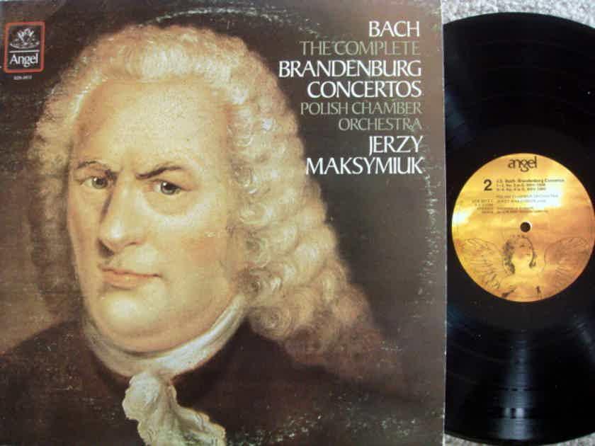 EMI Angel / MAKSYMIUK, - Bach Brandenburg Concertos, MINT-VG+, 2 LP Set!
