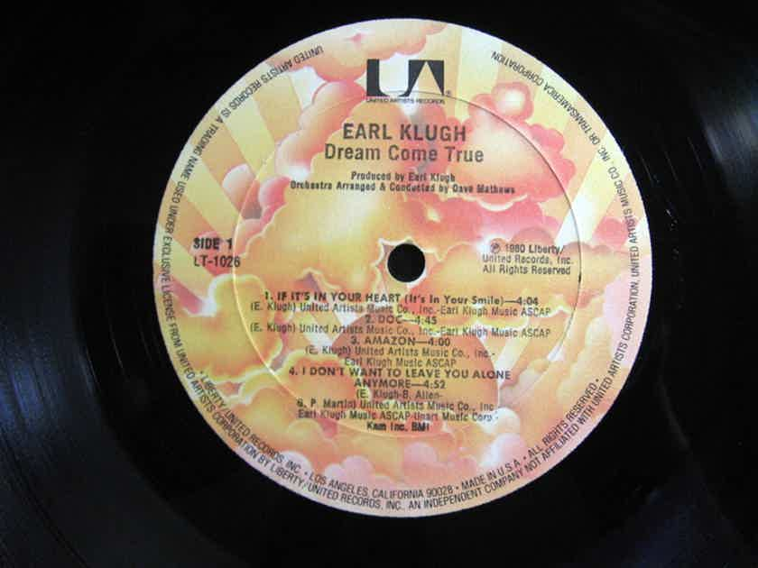Earl Klugh - Dream Come True - 1980 United Artists Records LT-1026