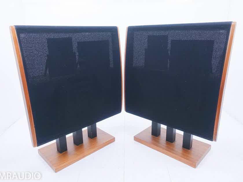 Dahlquist DQ-10 Floorstanding Speakers Walnut Pair; DQ10; AS-IS (Cabinet Buzz) (14617)
